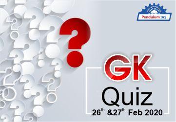GK Quiz MCQ