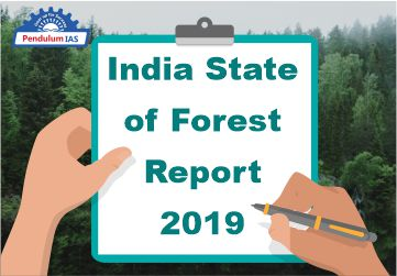 india state of forest report 2019 pendulumias
