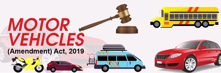 About Motor vehicle act 2019 pendulumias