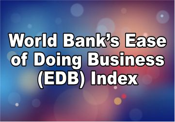 World Bank Ease of Doing Business Index